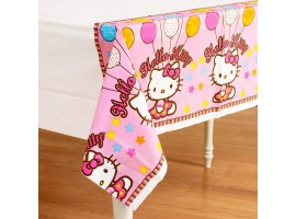 Скатерть Hello Kitty, 1,4*2,6м.